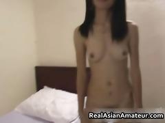 lustful non-professional oriental girl stuffed