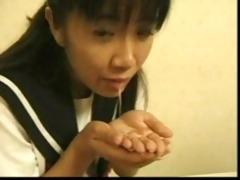 oriental tries her st weenie