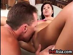 obscene oriental cutie screwed up the a-hole