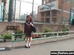 oriental undress outdoor in public and receive