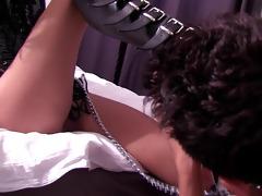 dominatrix cuckold arab serf foot worship boot