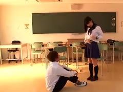 soft core oriental schoolgirl tease