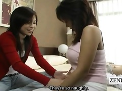 subtitled japanese lesbo unfathomable giving a