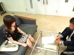 yumi takeda signs up for a sex career