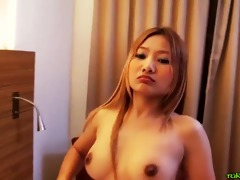 wild thai cutie fucks like eager