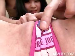 cute japanese idol mizutama remon takes on hard