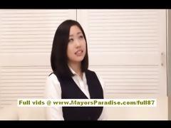 anri hosizaki oriental doll receives her pointer
