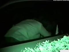 infrared camera filmed car seat fucking