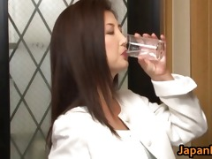 chisa kirishima aged oriental lady shows part6
