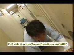 japanese super hawt nurse in act