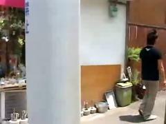 japan college man blow job