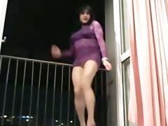 arabian muslim begum lady dancing to lovely