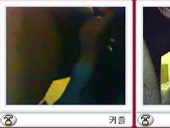 two korean couples fuck during chat session