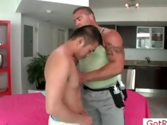 cute oriental man acquires massage by gotrub