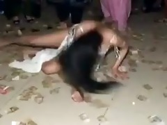 sexy indian&#780 s sultry dance at a intimate