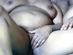 desi indian aunty getting foreplay sex with